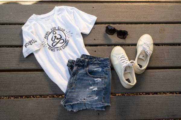 Organic cotton Rebel for good t-shirt